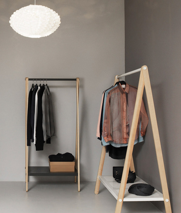 CIBONE / TOJ CLOTH RACK SMALL