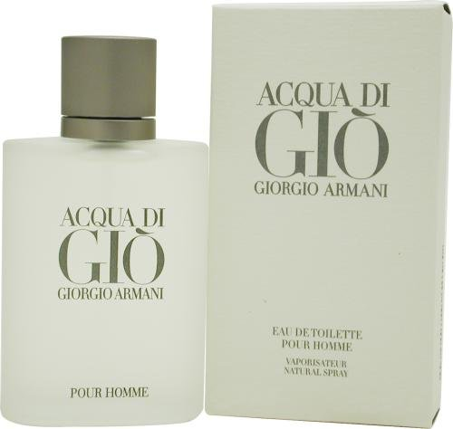 Amazon.com: Acqua Di Gio By Giorgio Armani For Men. Eau De Toilette Spray 3.4 Ounces: Beauty
