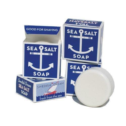 Amazon.com: Swedish Dream Sea Salt Soap -129 gr Bar: Health & Personal Care