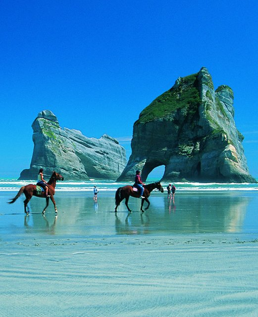 Fancy - Wharariki Beach @ New Zealand