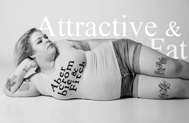 """Abercrombie & Fitch Ads Reimagined As """"Attractive & Fat"""""""