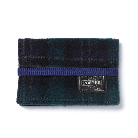 """""""LESSON"""" BAND CARD CASE GREEN"""