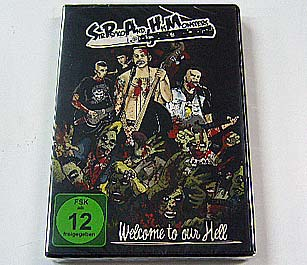 SIR PSYKO & HIS MONSTERS - Welcome To Our Hell (DVD) - NAT RECORDS