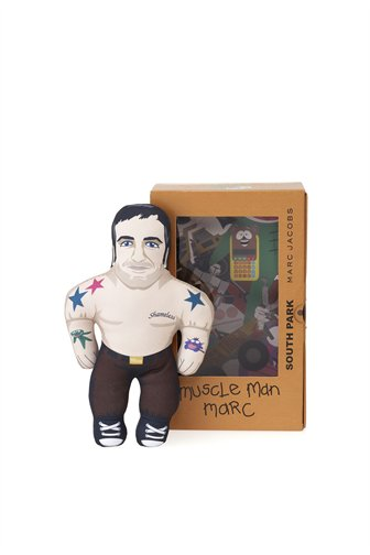 """Marc Jacobs """"Muscle Man Marc"""" South Park Doll 