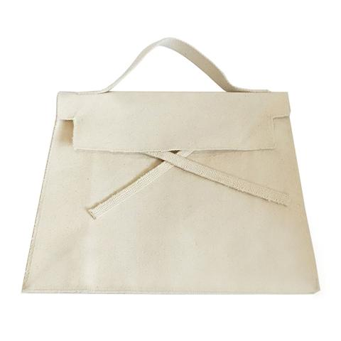 Slow and Steady Wins the Race — Trapezoidal Bag | Natural Canvas