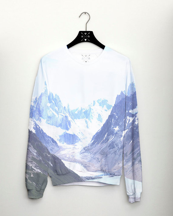 PRE ORDER Mountain Womens Sweater Full Print by casesbycsera