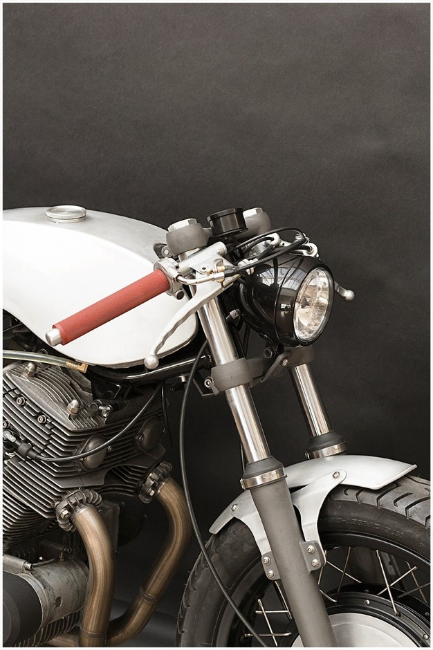Inazuma café racer: SF750 by Wrenchmonkees - Preview