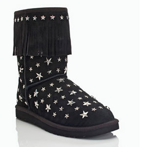 Cheap Uggs Jimmy Choo Sora Starlit Black Boots Sale,Discount Jimmy Choo Uggs
