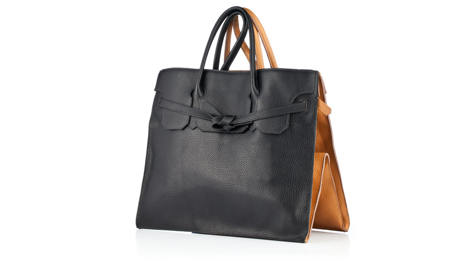 Slow and Steady Wins The Race's Rectangular Leather Bag | AHAlife