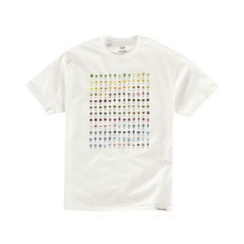 DIAMOND SUPPLY CO. - Germs (White) - Growth skateboard elements