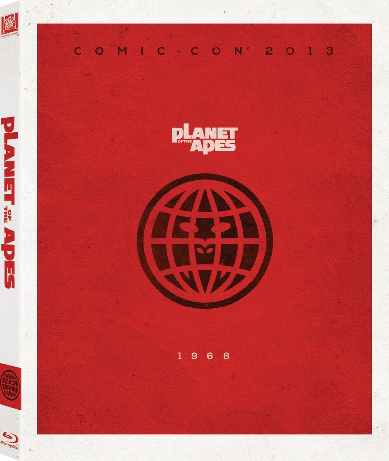 Amazon.com: Planet of the Apes Blu-Ray w/ Limited Edition Comic-Con Packaging: Movies & TV