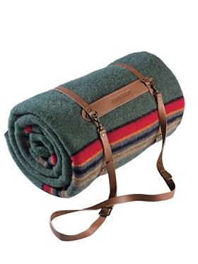 Pendleton Woolen Mills: LEATHER BLANKET CARRIER