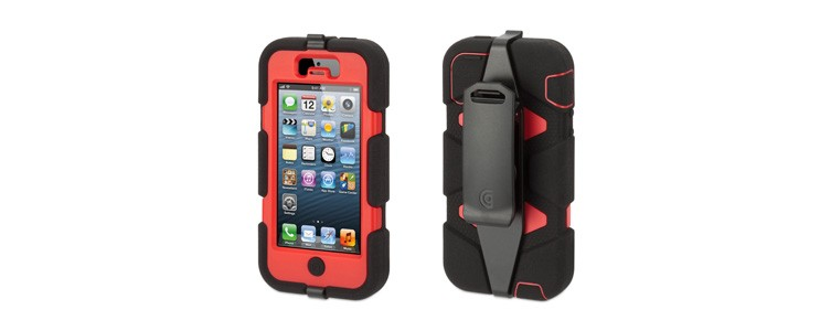 Survivor with Belt Clip for iPhone 5   Griffin Technology