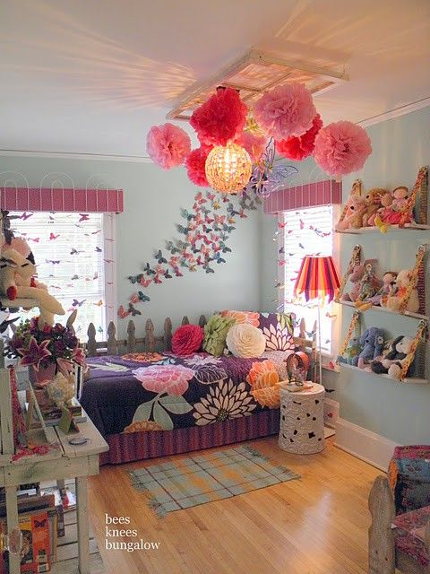 For the Home / 25 Fun And Cute Kids Room Decorating Ideas | DigsDigs