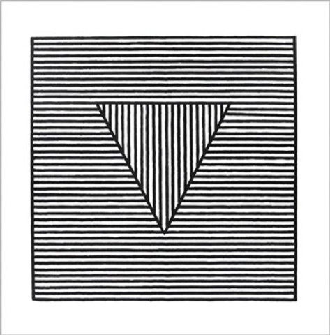 Triangle, c.1980 Serigraph by Sol Lewitt at AllPosters.com