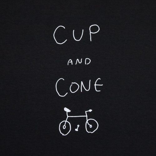 Joji-san Tee - Black - cup and cone WEB STORE