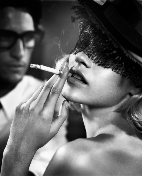 Ginta Lapina by Vincent Peters   +   Pinterest