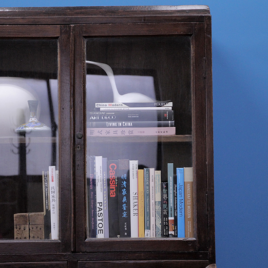 book shelf with drawers / 書棚 引出し付き[on the shore]