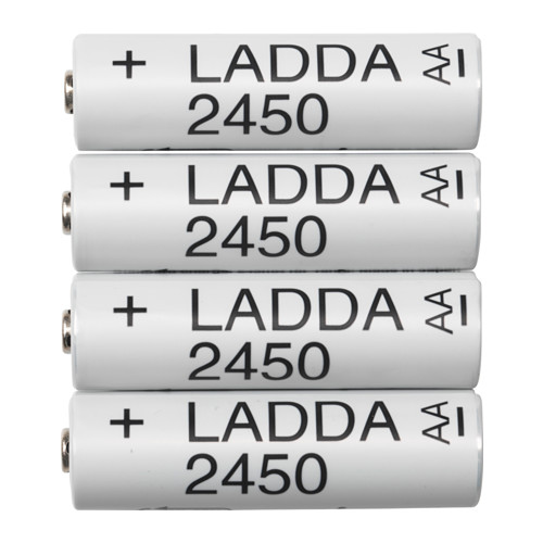 LADDA Rechargeable battery - - - IKEA