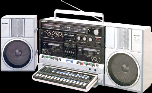 Cool Boombox | Vintage Electronics Have Soul – The Pocket Calculator Show Website