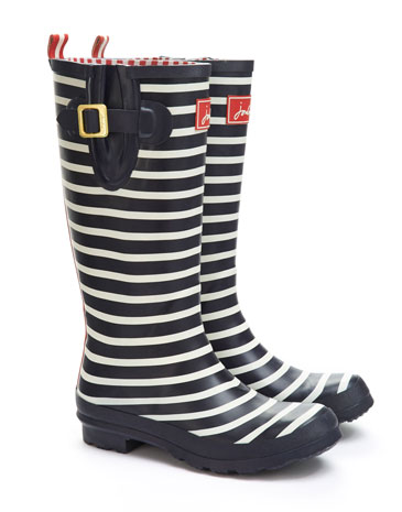 Navstrp Welly print Womens Welly | Joules UK