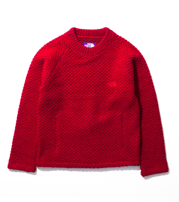 nanamica / Wool Fleece Crew Sweater