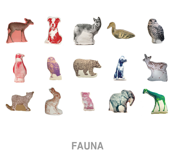 zoe design : FAUNA Pillows.. Now on sale!