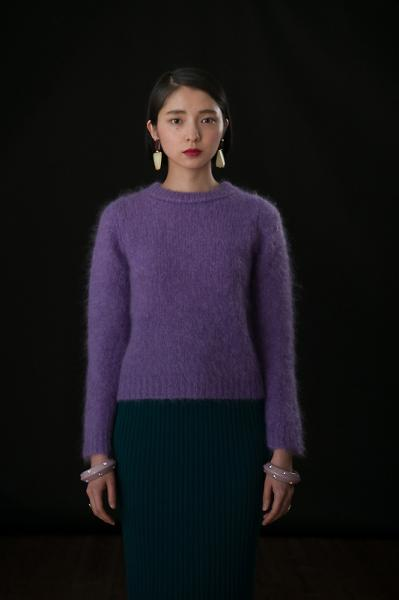 MELTY MOHAIR KNIT(S) - mother online shop