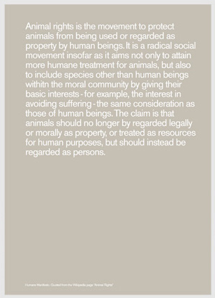 manifesto04 Gray poster - HUMANS 04 COLLECTION | Humans by Mike Mills