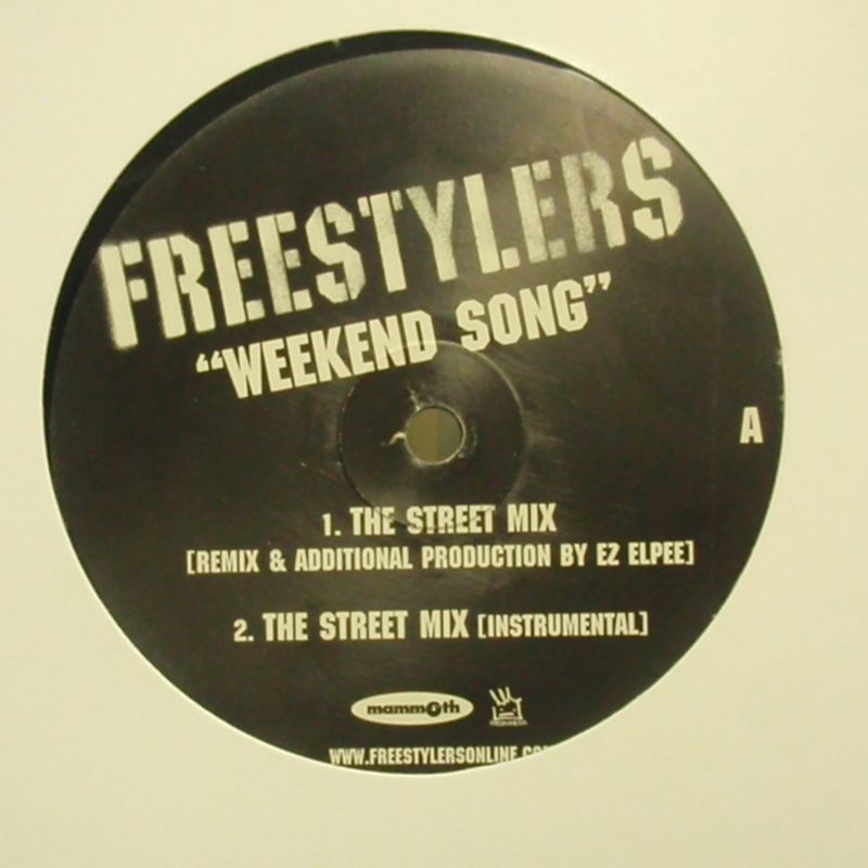 FREESTYLERS / WEEKEND SONG MAMMOTH 12inch Vinyl record 中古レコード通販