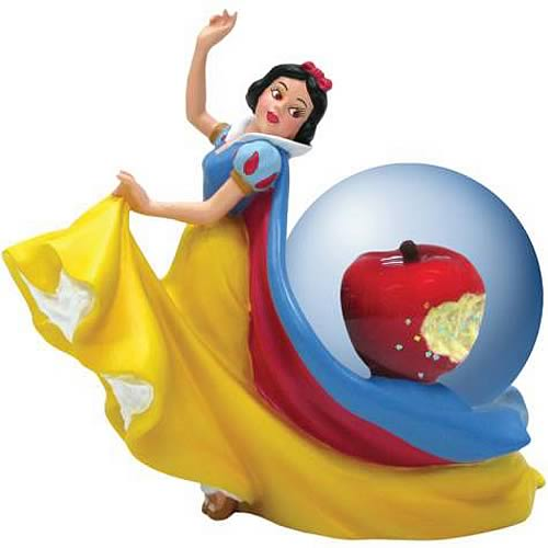 Snow White Apple Water Globe - Westland Giftware - Snow White and the Seven Dwarfs - Snow Globes at Entertainment Earth