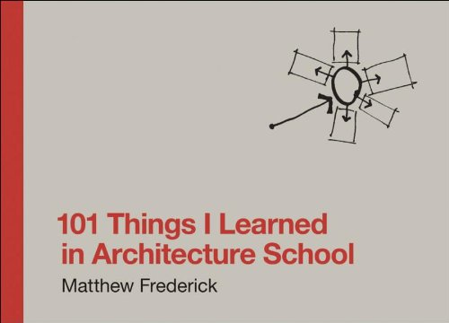 101 Things I Learned in Architecture School: Amazon.co.uk: Matthew Frederick: Books