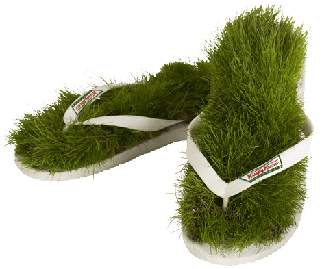 Do Let The Grass Grow Under Your Feet | AdPulp