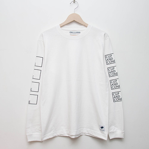 Cup of Spring L/S - White - cup and cone WEB STORE