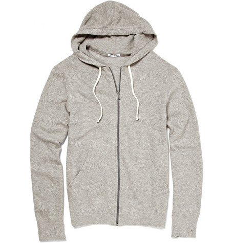 James Perse Lightweight Zip Up Hooded Top | MR PORTER