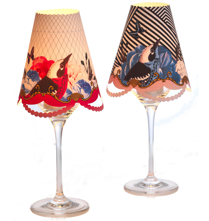 Social Soiree-Lampshade Lumieres-Talking Tables Designers of Stylish Partyware