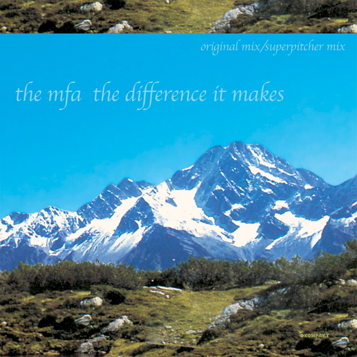 The Difference It Makes by The MFA on MP3 and WAV at Juno Download
