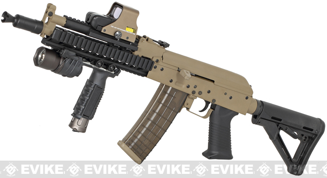 Magpul PTS Limited Edition Tactical AK Full Metal Airsoft AEG Rifle, Airsoft Guns, Airsoft Electric Rifles, Other AEG - Evike.com Airsoft Superstore