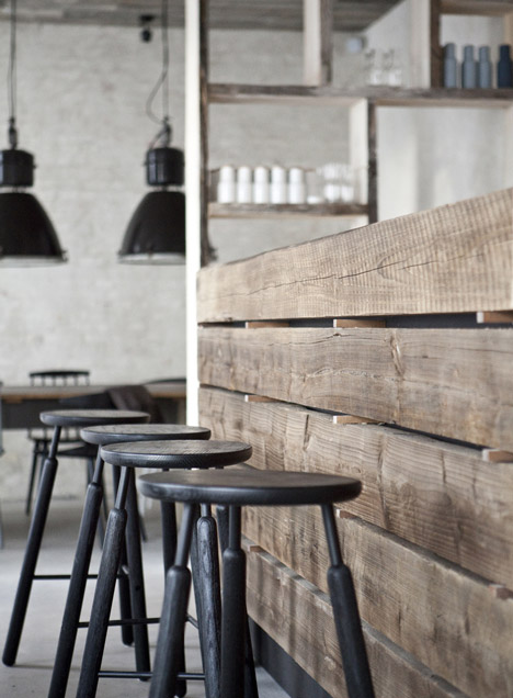 Höst restaurant by Norm Architects and Menu