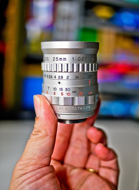AMPEX 25mm f0.95 TV Lens | Flickr - Photo Sharing!