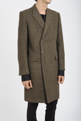 LAD MUSICIAN ONLINE SHOP/商品詳細 CHESTER COAT (DOUBLE BREASTED)