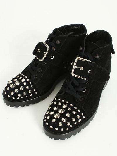 UNSQUEAKY(アンスクウィーキー) Studs Lace-up Boots通販|BOOMERANG
