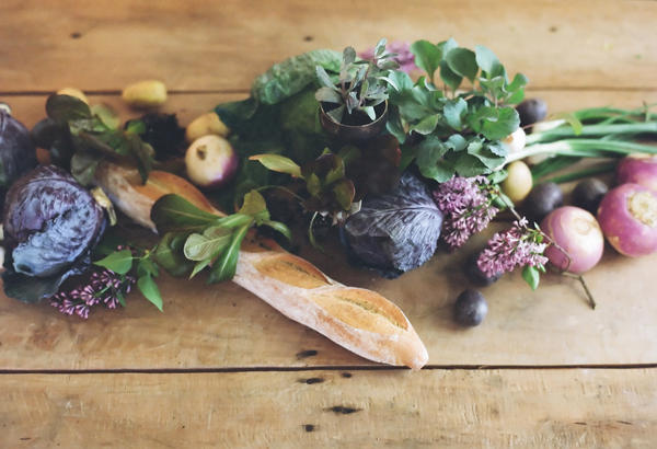 Vegetable Centerpieces at Fall Weddings | Kate Miller Events