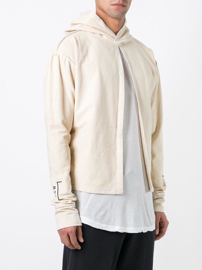 A-cold-wall* Split Front Pullover Hoodie - Eizenstein - Farfetch.com