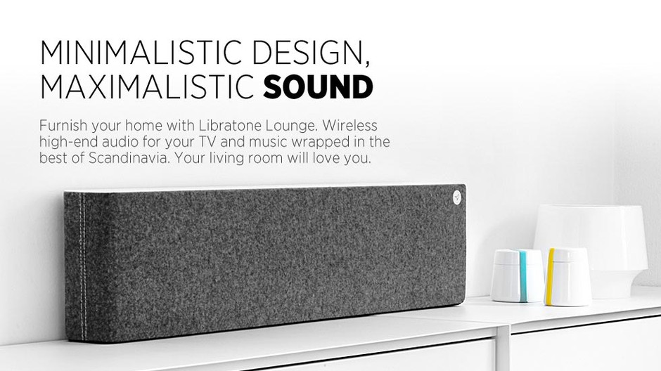 Libratone - Wireless AirPlay speaker for your iPad, iPhone, iPod and Computer