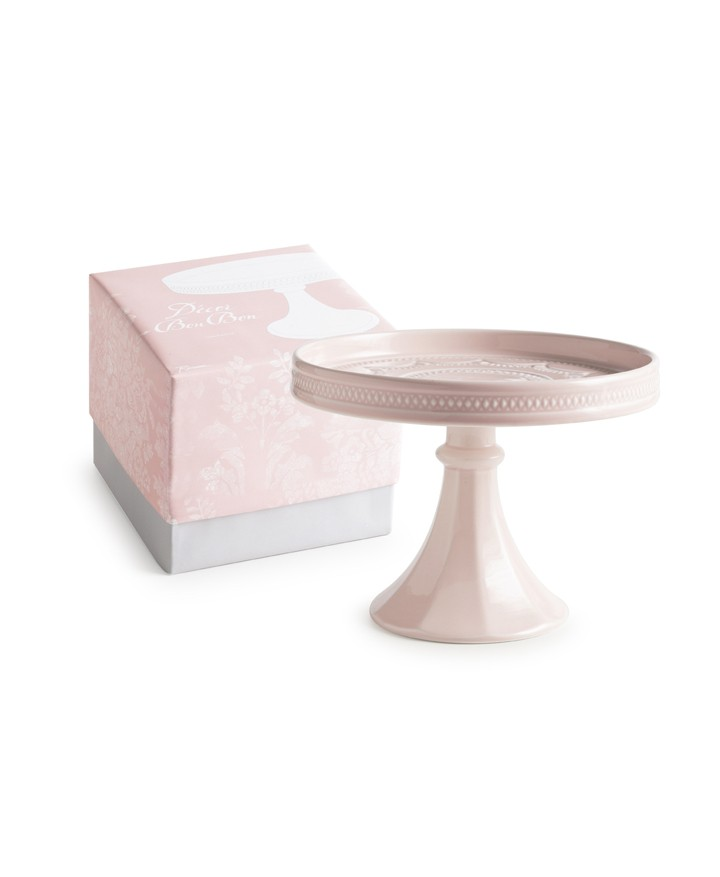 Decor Bon Bon Hue Small Rimmed Pedestal - Rosanna Inc
