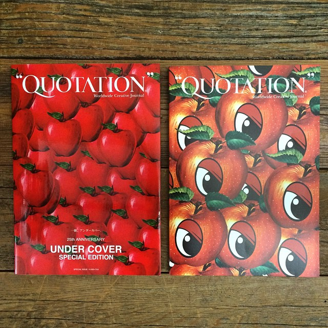 News - 9月19日「UNDER COVER SPECIAL EDITION by QUOTATION」発売 | QUOTATION magazine.jp