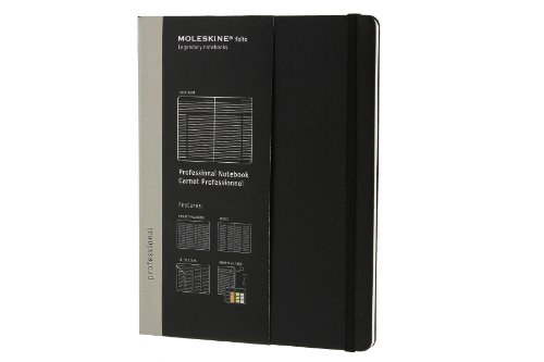 Amazon.co.jp: Moleskine Professional Notebook Extra Large (Moleskine Legendary Notebooks): Moleskine: 洋書