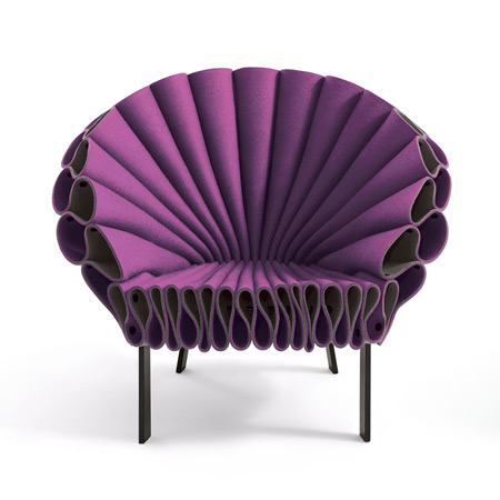Dezeen » Blog Archive » Peacock Chair by Dror