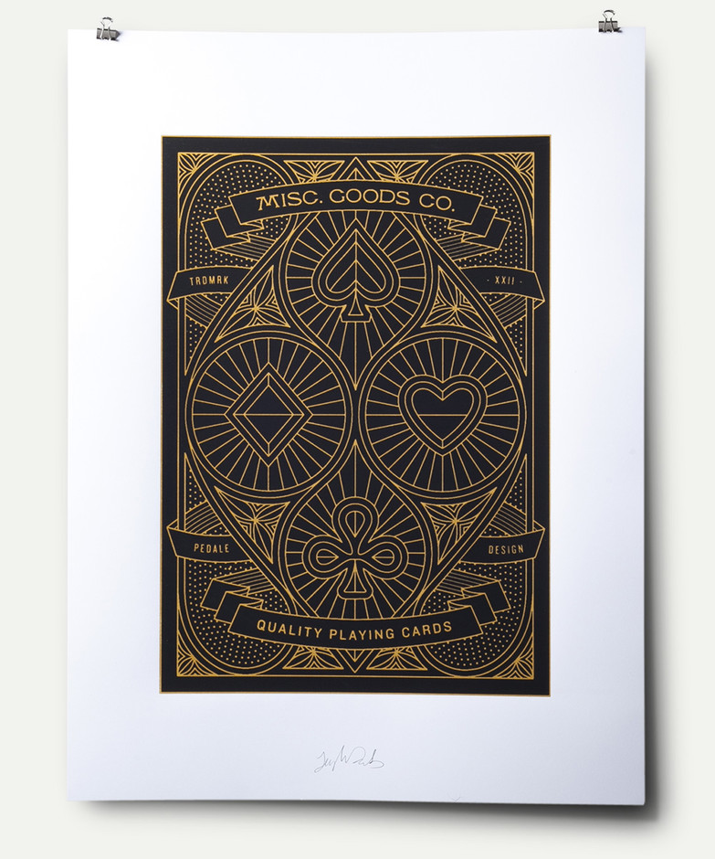 Cover Screen Print Poster | Misc. Goods Co.